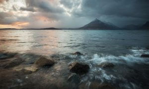 Last light Elgol, Skye
