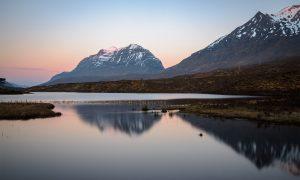 Morgenröte Loch Clair