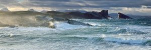 Stormy Sees at Sunrise, Clach Toll, Lochinver, Scotland