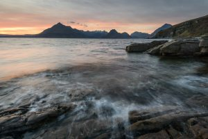 Warm Sunset Elgol, Isle of Skye