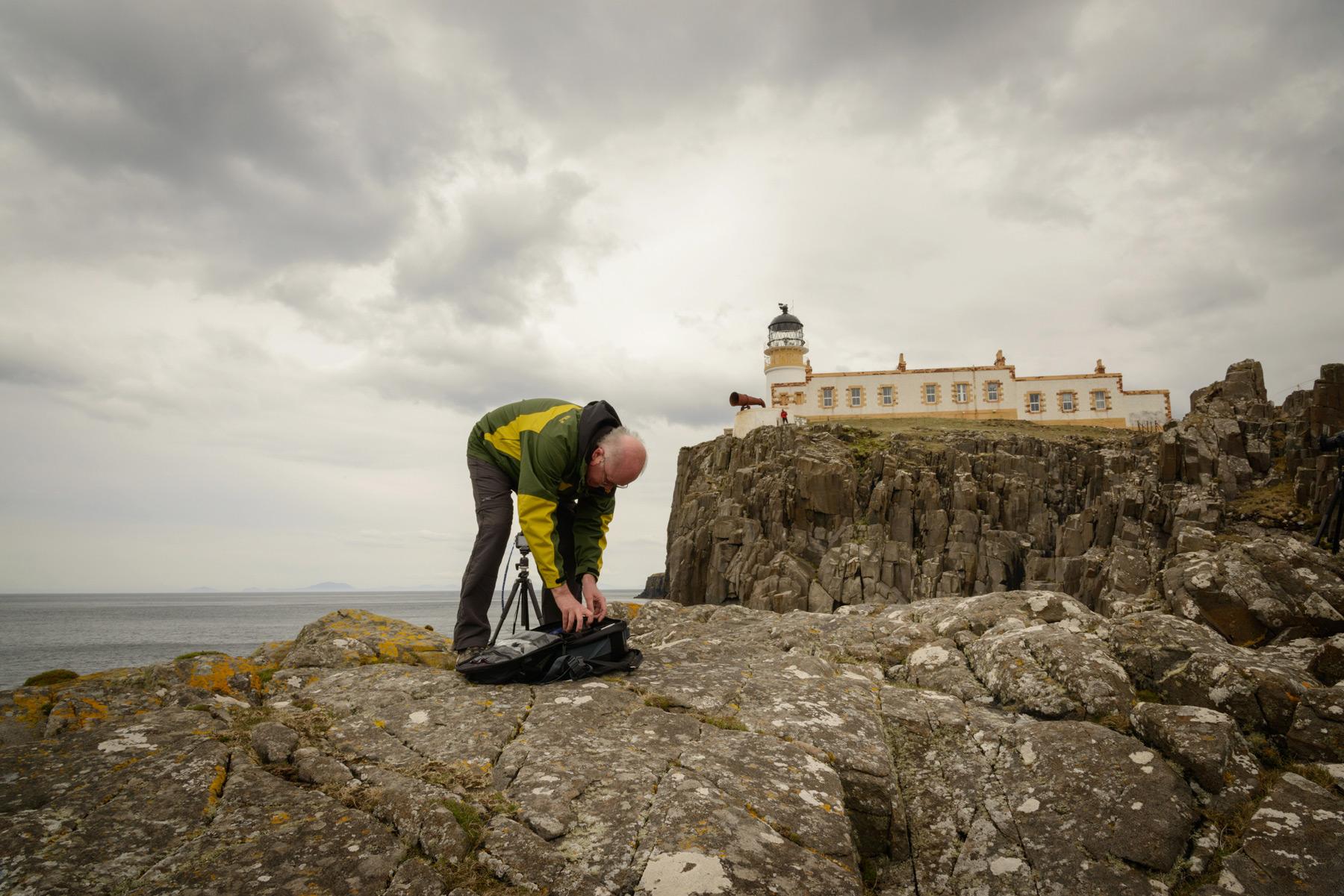 Am Neist Point Leuchtturm, Skye Fotoreise, Schottland