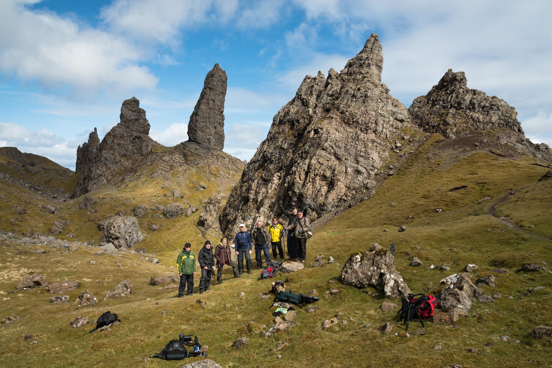 Am Old Man of Storr, Isle of Skye Fotoreise