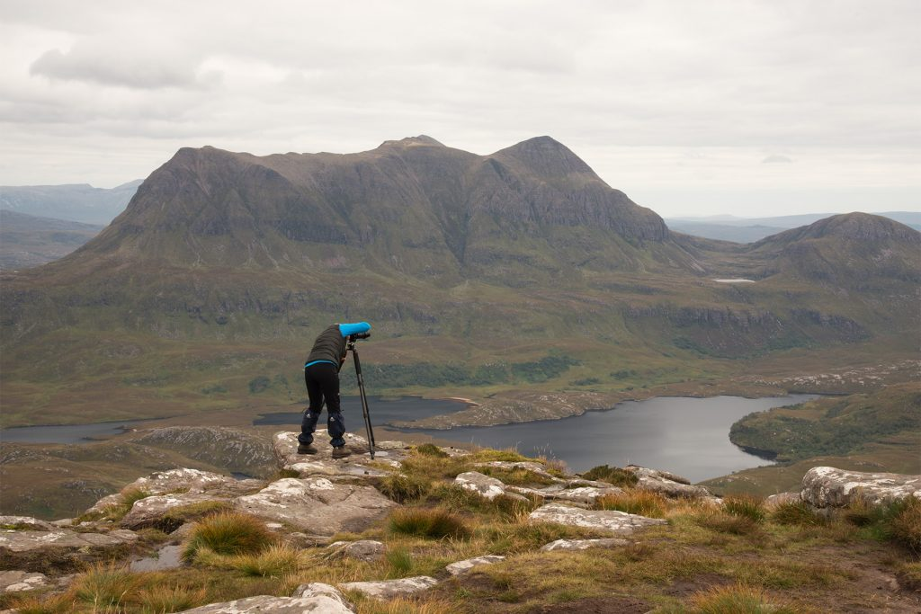 Auf Stac Pollaidh, Assynt Fotoreise, Schottland