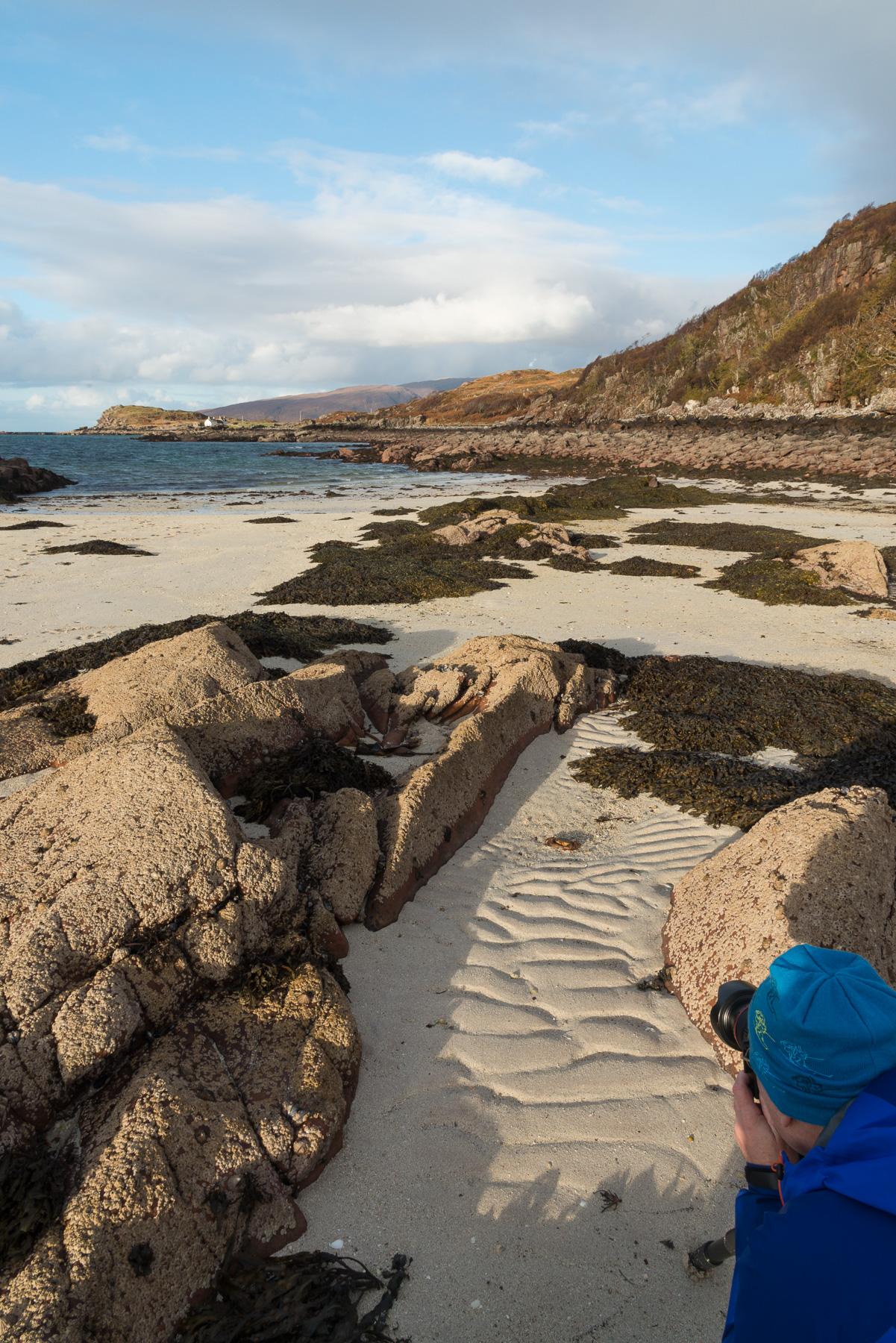 Strand Details, Applecross, Torridon Fotoreise, Schottland