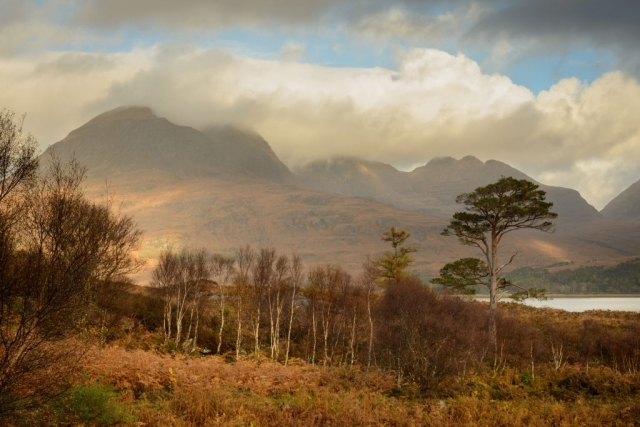 Herbstsonne, Beinn Alligin