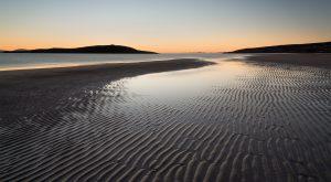 Big Sand Sonnenuntergang, Torridon