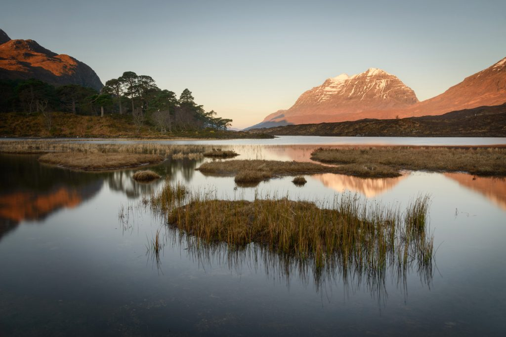 Calm Sunrise, Loch Clair