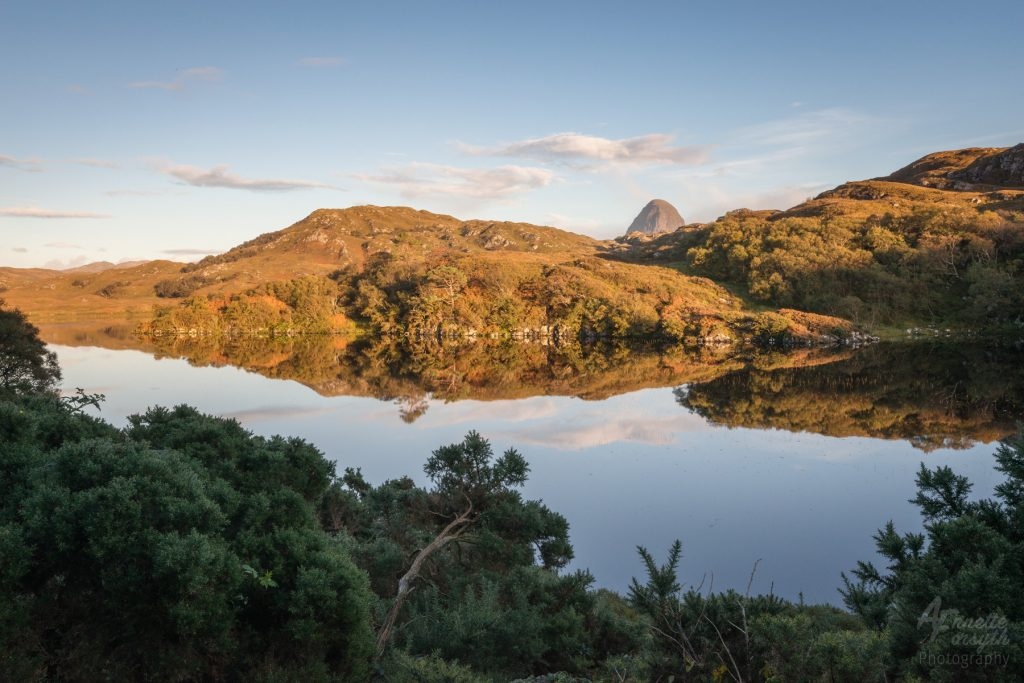 Evening Light on Suilven