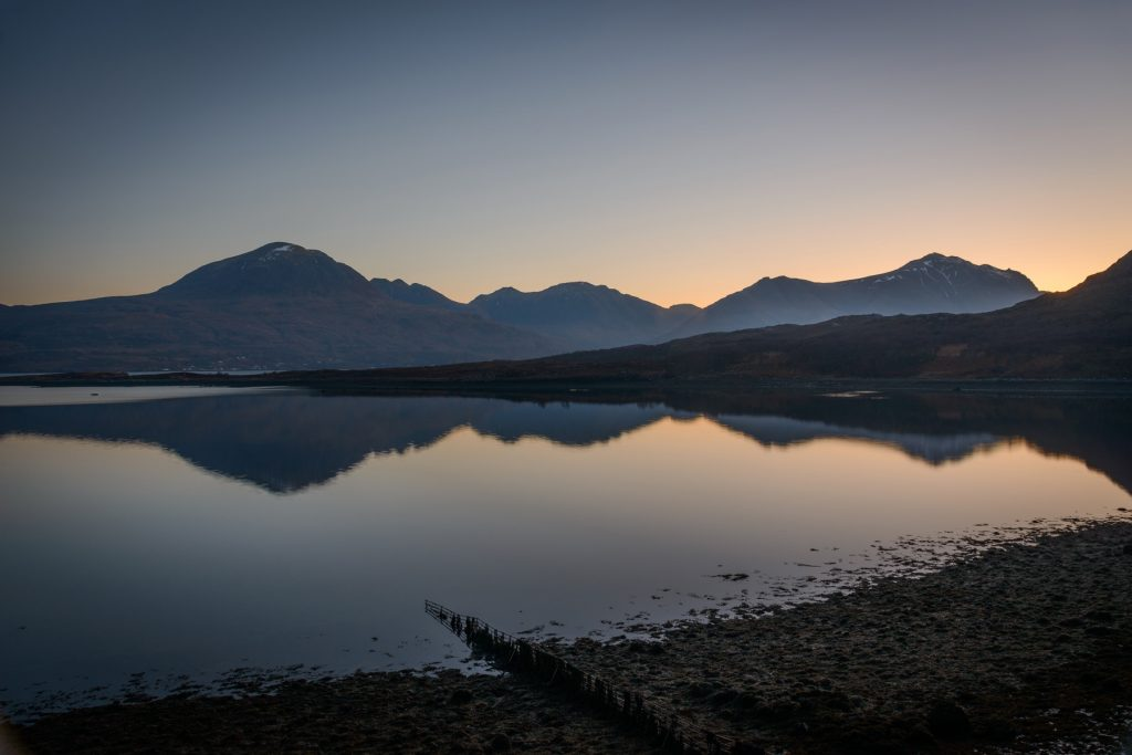Erwachen, Torridon & Applecross Fotoreise, Schottland