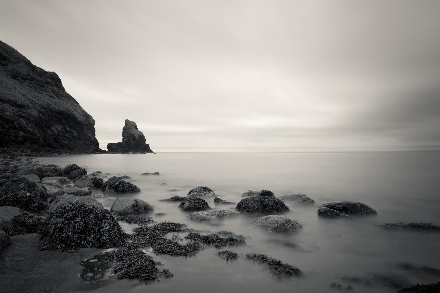 An Stac, Talisker Bay, Insel Skye