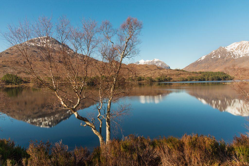 Loch Clair, Frühling liegt in der Luft