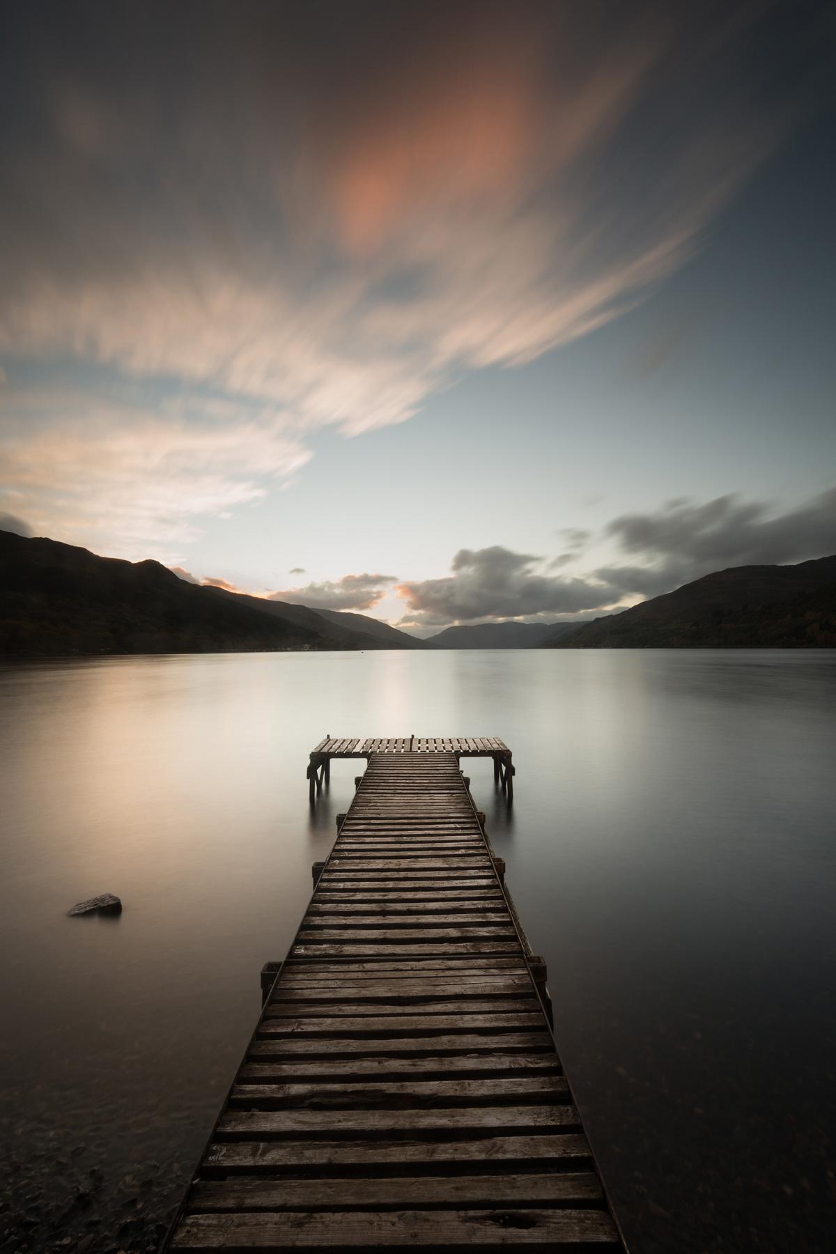 Loch Earn Sonnenuntergang, Strathearn, Schottland