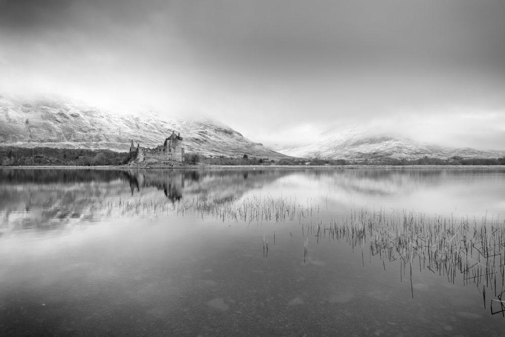 Enthüllt, Kilchurn Castle, Loch Awe, Schottland