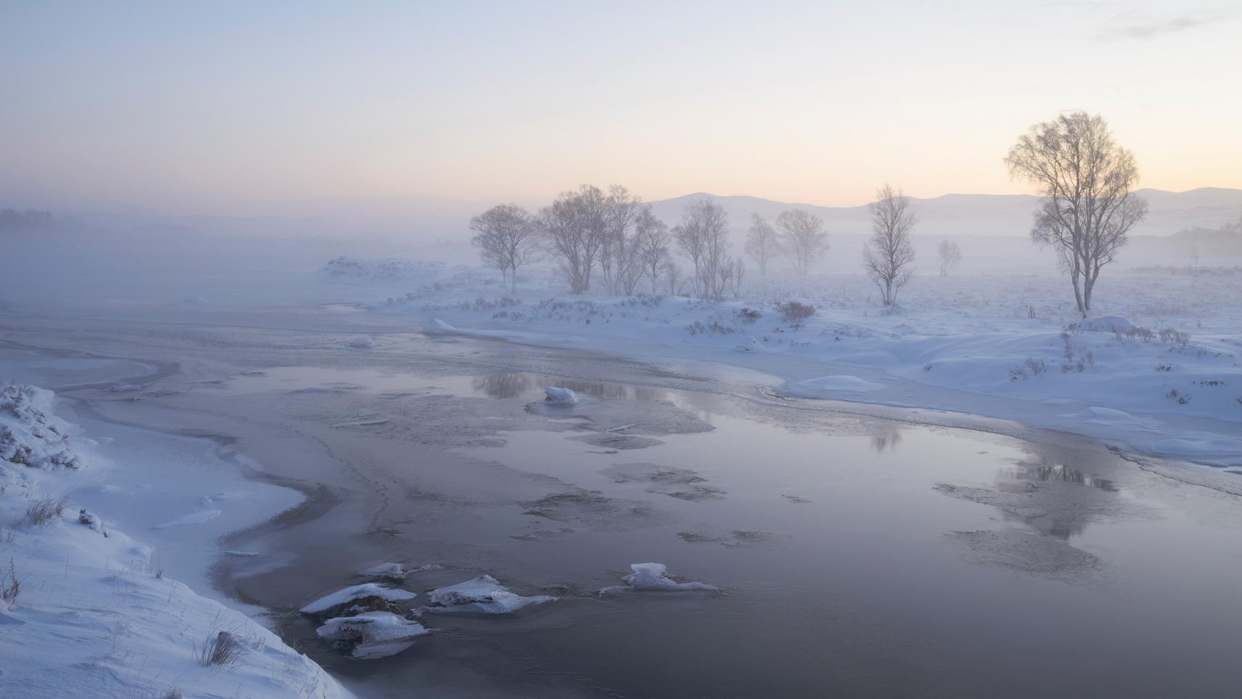 Nebelzauber, Rannoch Moor, Schottland