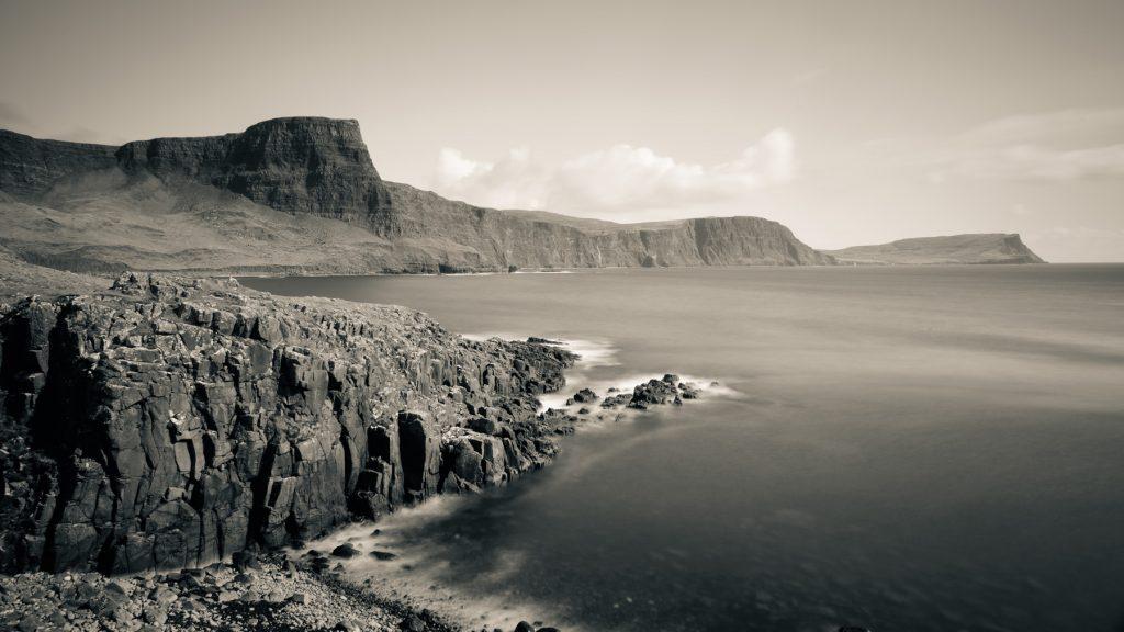 Moonen Bay, Insel Skye