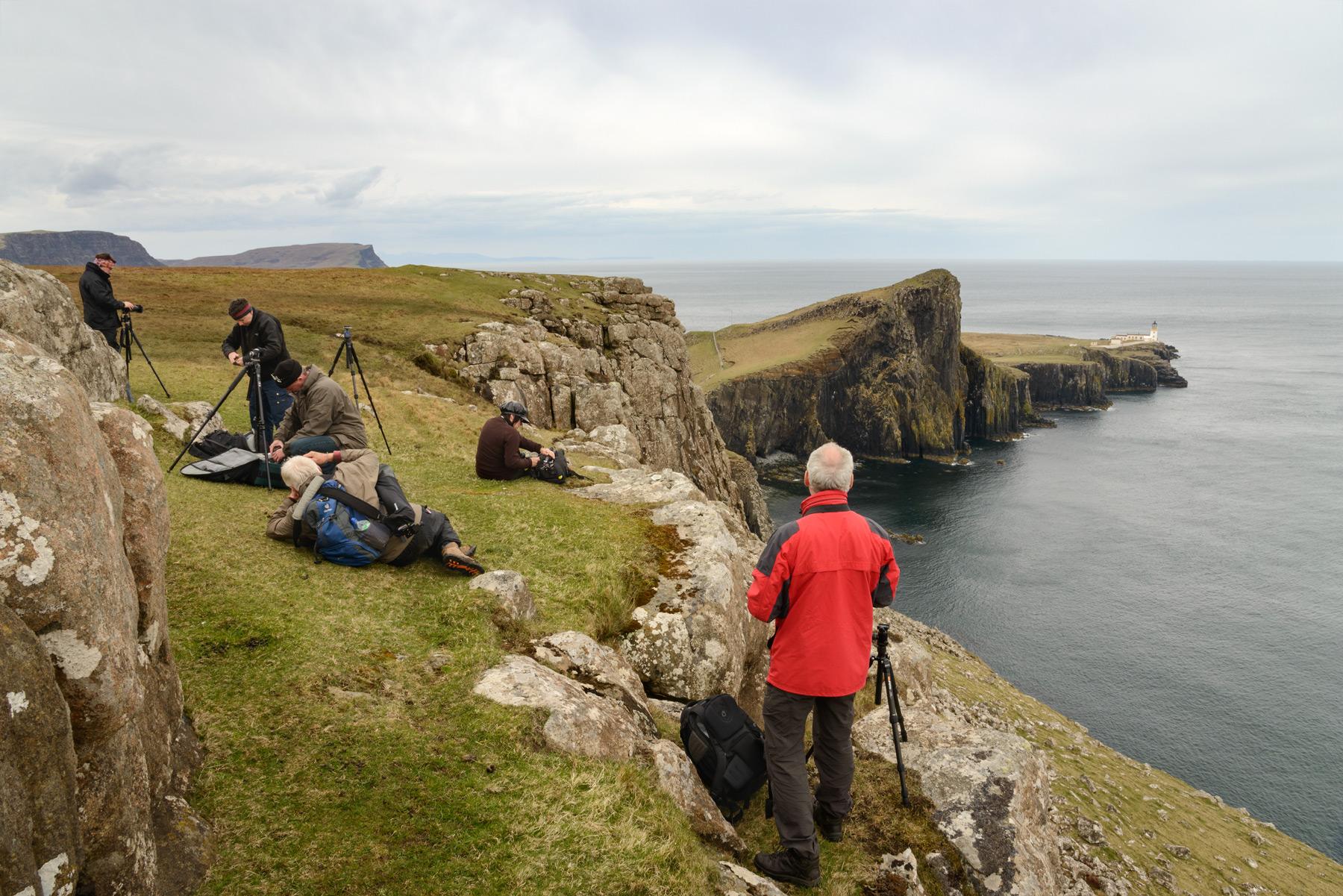 Neist Point Lighthouse, Skye Fotoreise