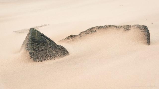 Sandblasted at Clashnessie, Scotland