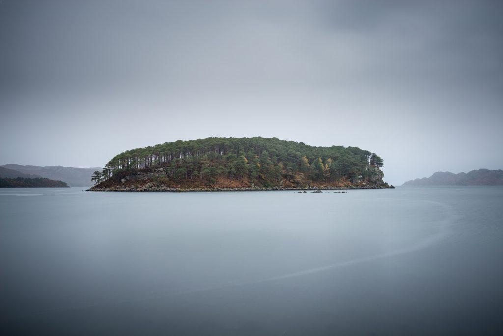 Shieldaig Island Morgengrauen, Torridon