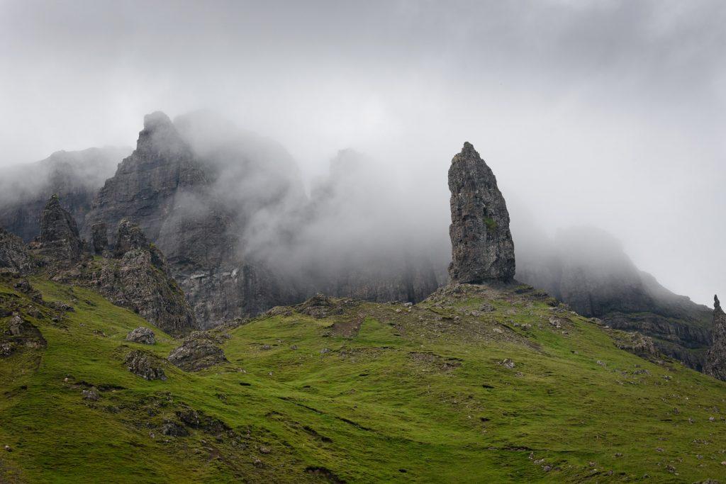Die Enthüllung, Old Man of Storr, Skye Fotoreise