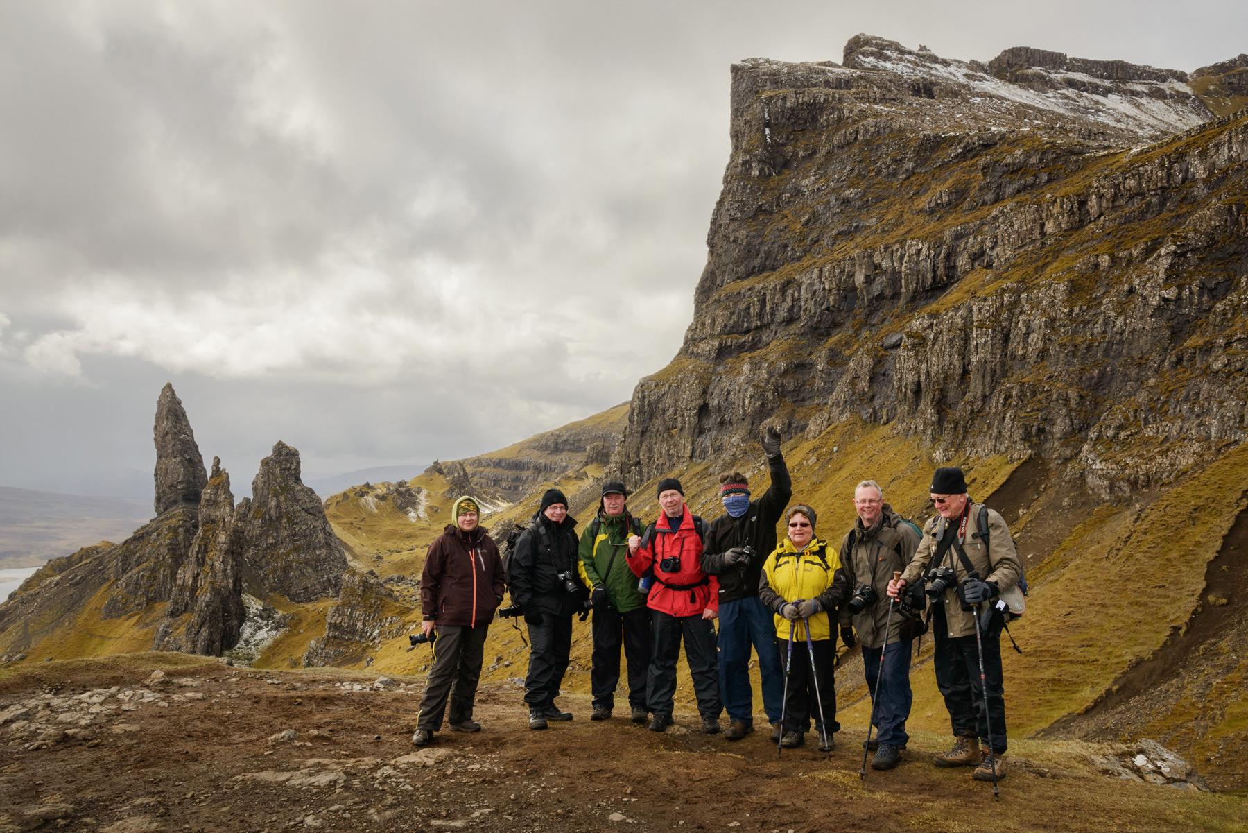 Skye Gang, Skye Fotoreise, Schottland