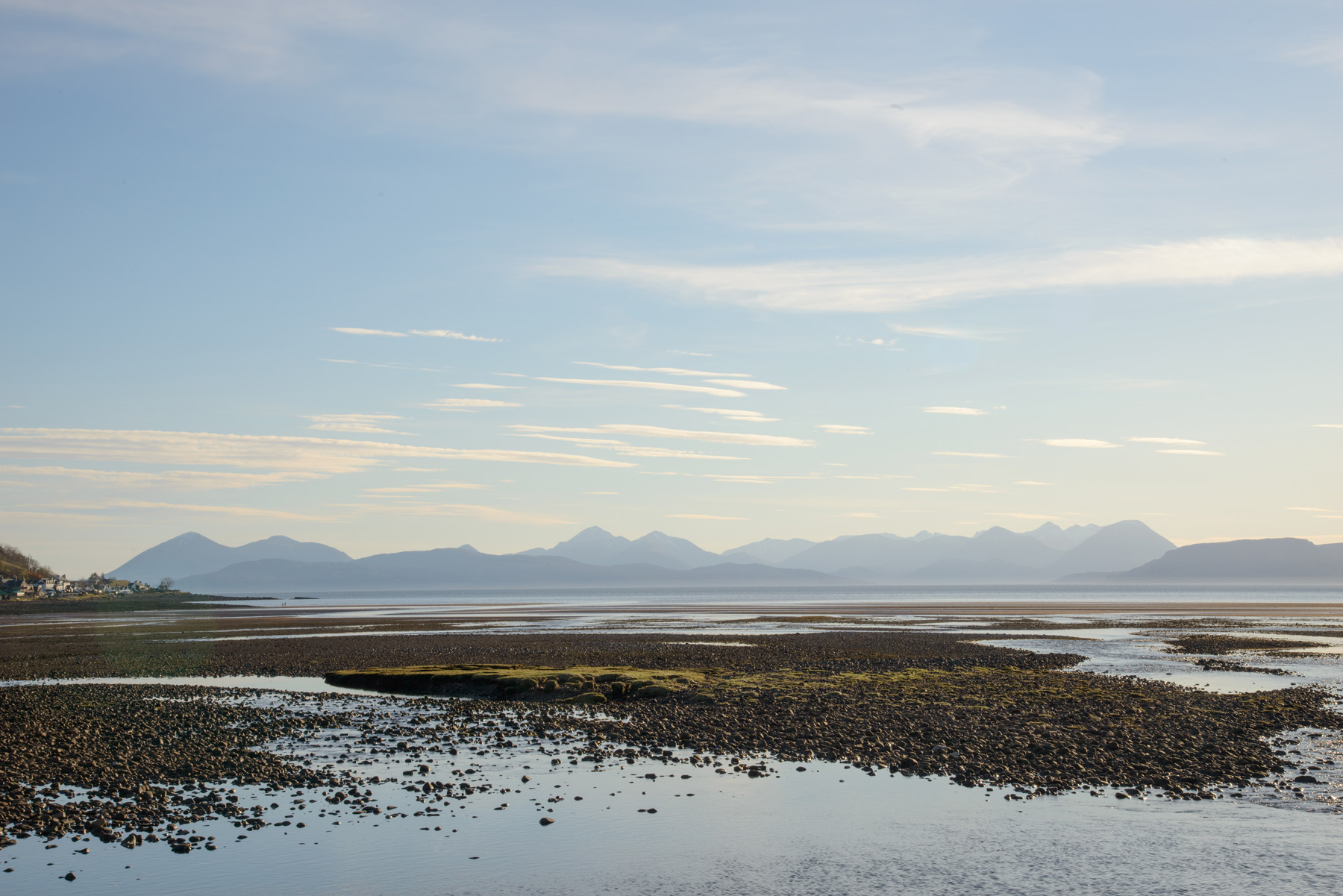 Skye Panorama, Applecross