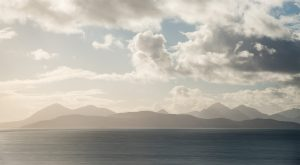 Skye Panorama von Applecross