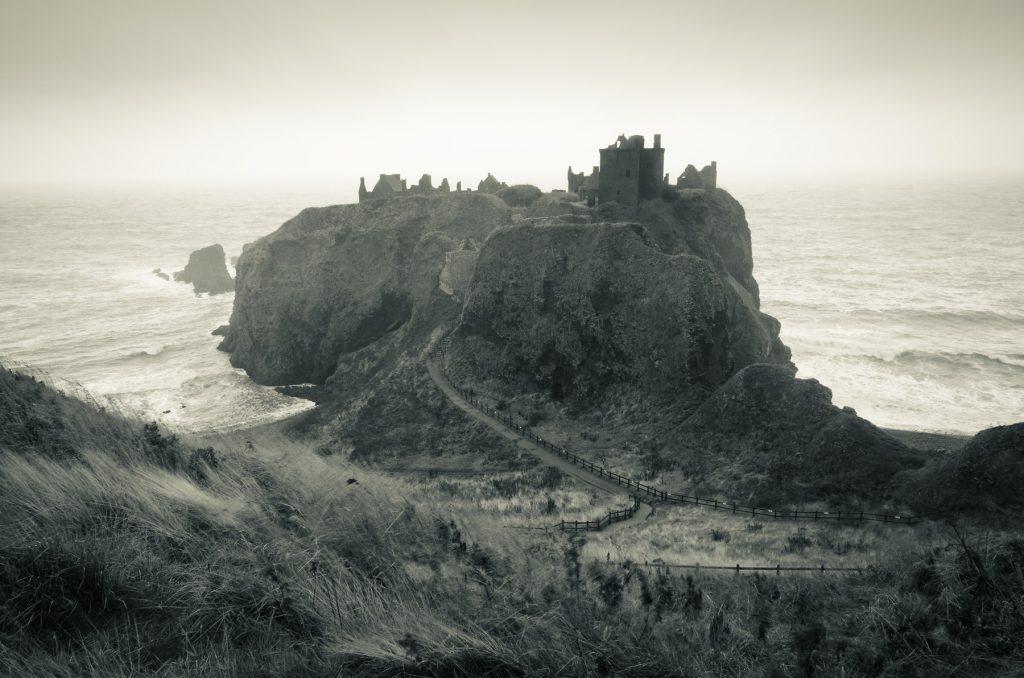 Stürmisches Dunnottar Castle