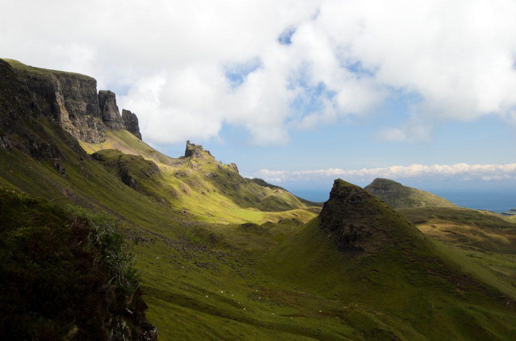 Sonne und Wolken, Trotternish, Skye