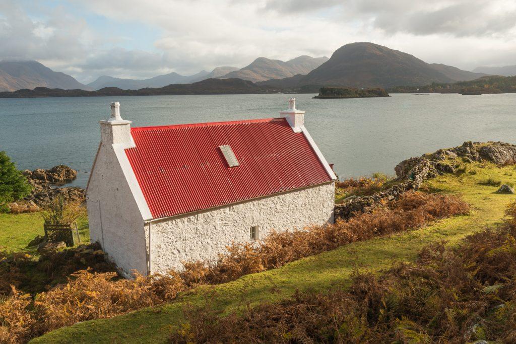 Das Rote Haus, Applecross, Schottland