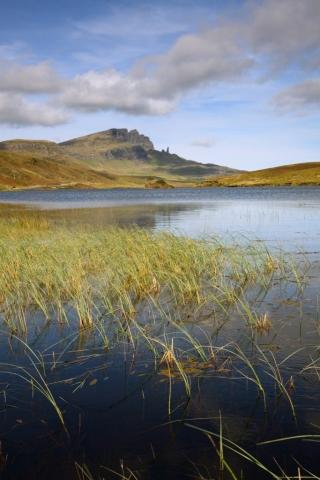 Der Old Man of Storr von Loch Leather, Insel Skye Fotoreise