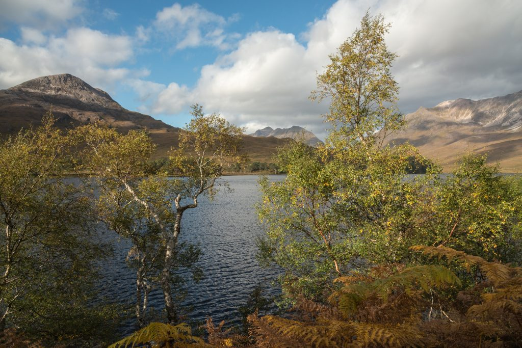 Herbstfarben Loch Clair