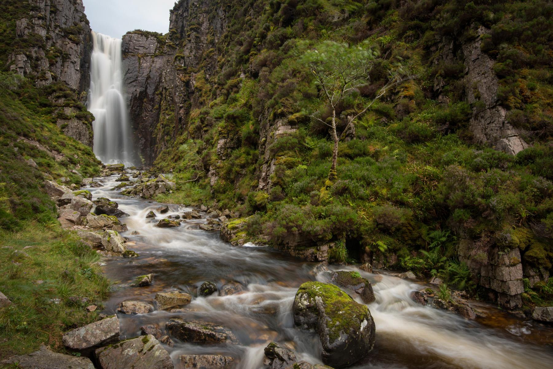 Der Wasserfall der klagenden Witwe