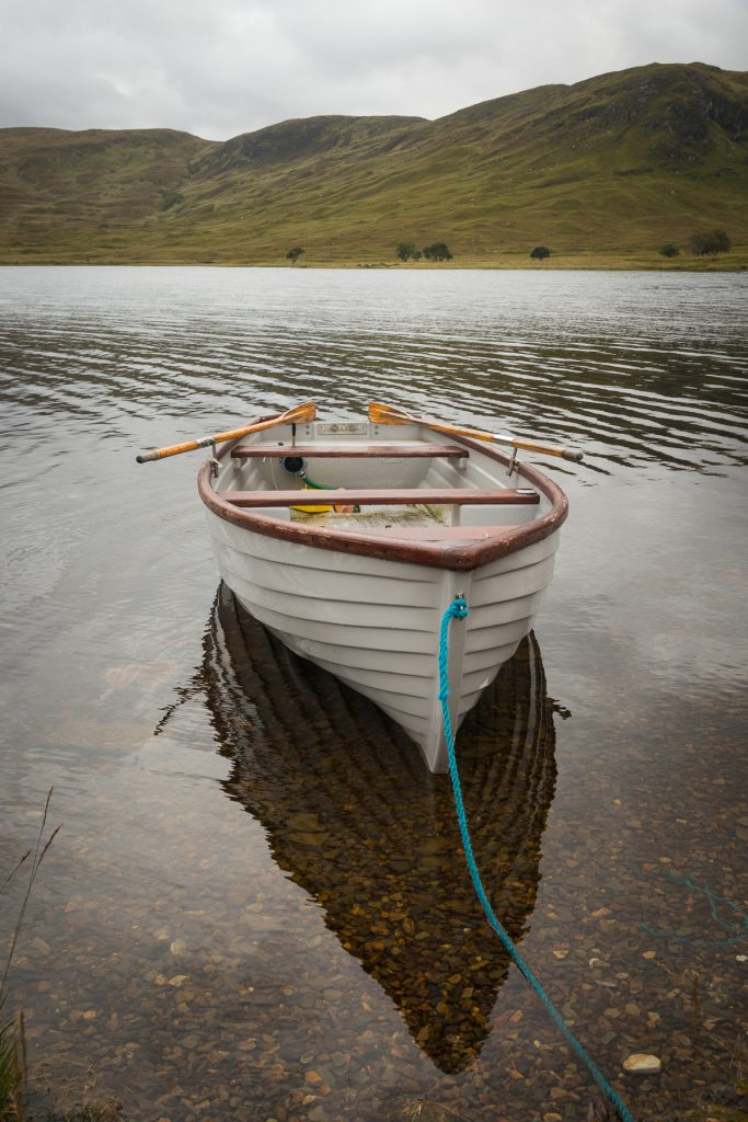 Fischerboot Northwest Highlands