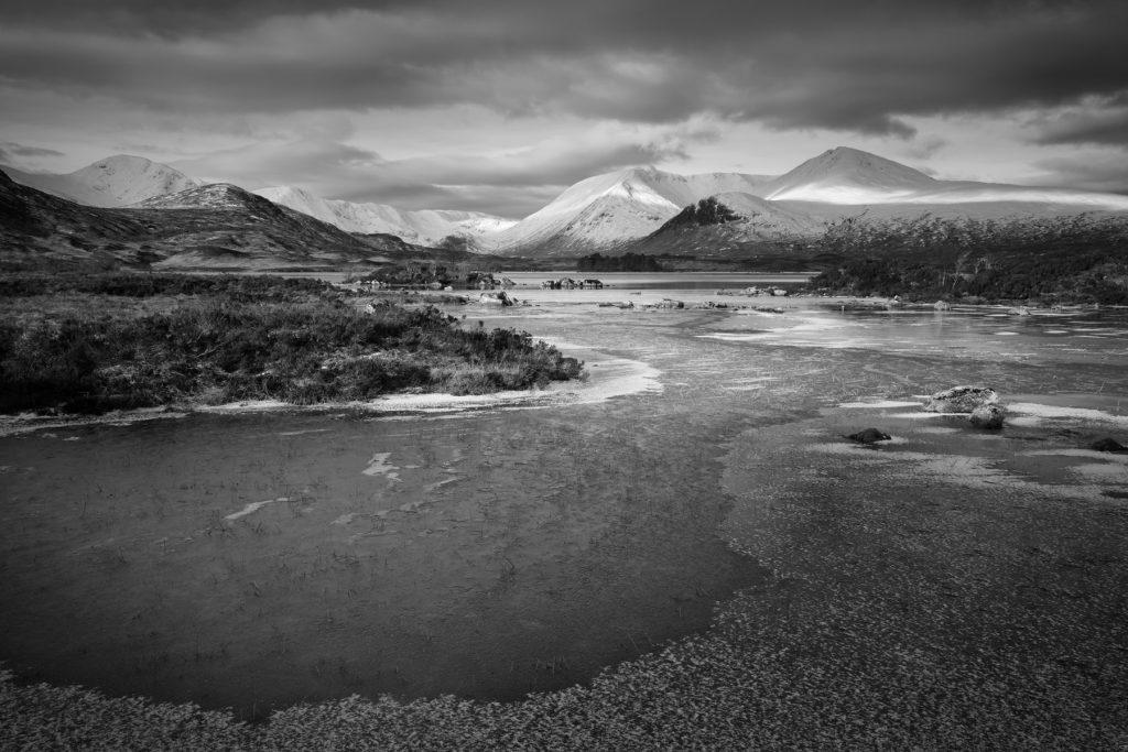 Rannoch Moor im Winter