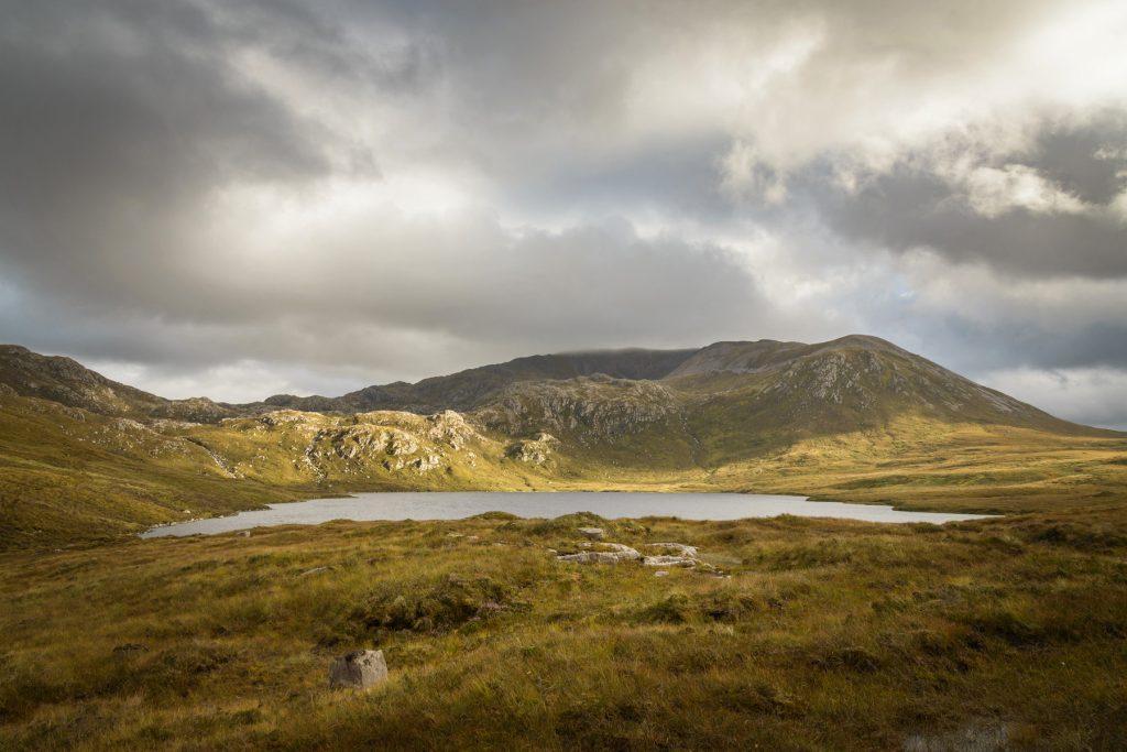 Sonnenflecken Loch na Gainmhich