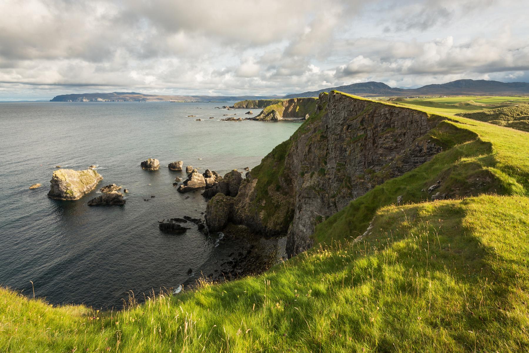 Steilküste Faraid Head