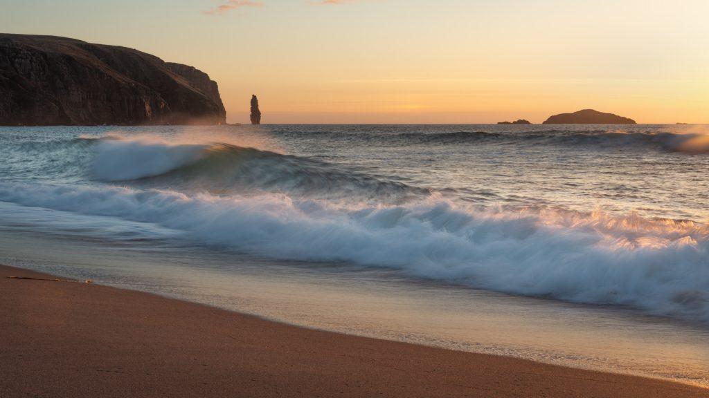 Abendstimmung Sandwood Bay