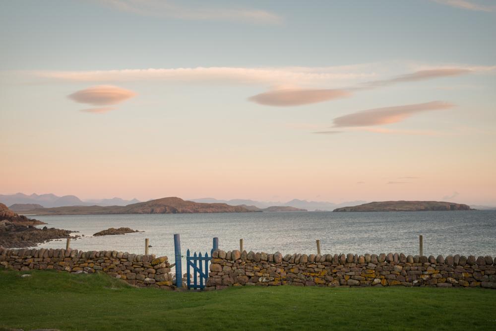 Gartenblick auf die Summer Isles