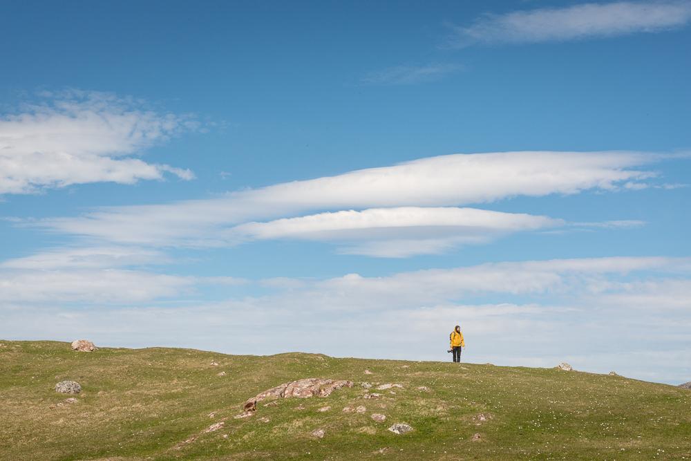 Willkommene Wolken Assynt Fotoreise 17