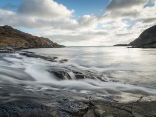 River Scavaig, Loch Coruisg