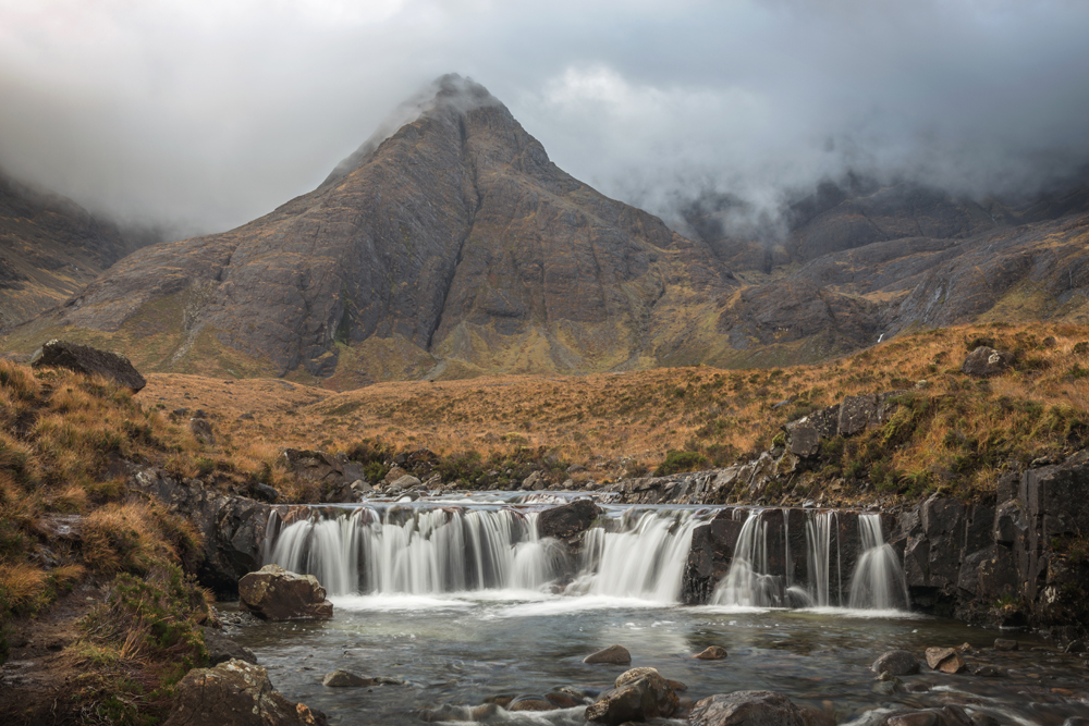 Fairy Pools Wolkenspiel