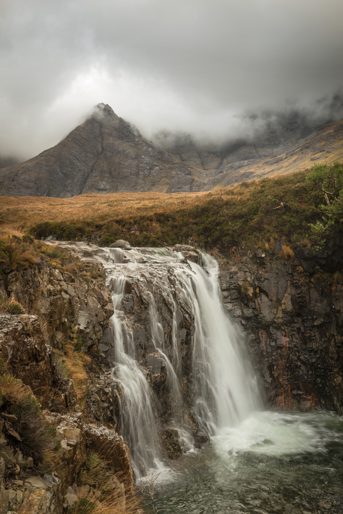Steter Fluss, Fairy Pools, Skye