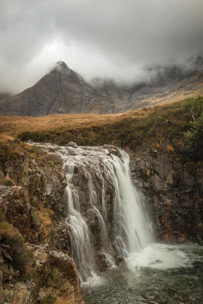 Steter Fluss, Fairy Pools, Skye