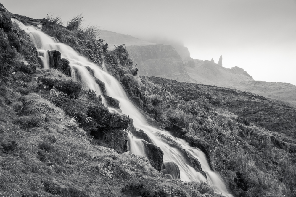 Old Man of Storr Wasserfall