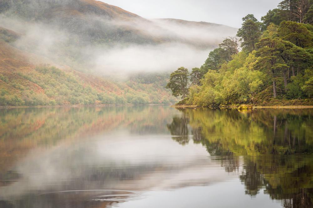 Morgenstimmung Loch Clair
