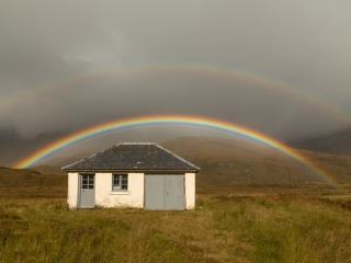 Doppelter Regenbogen, Torridon