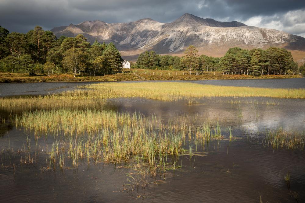 Loch Coulin mit Beinn Eighe