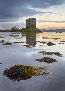Castle Stalker im Morgenlicht