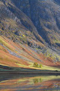 Loch Achtriochtan Herbststimmung, Glencoe Fotoreise