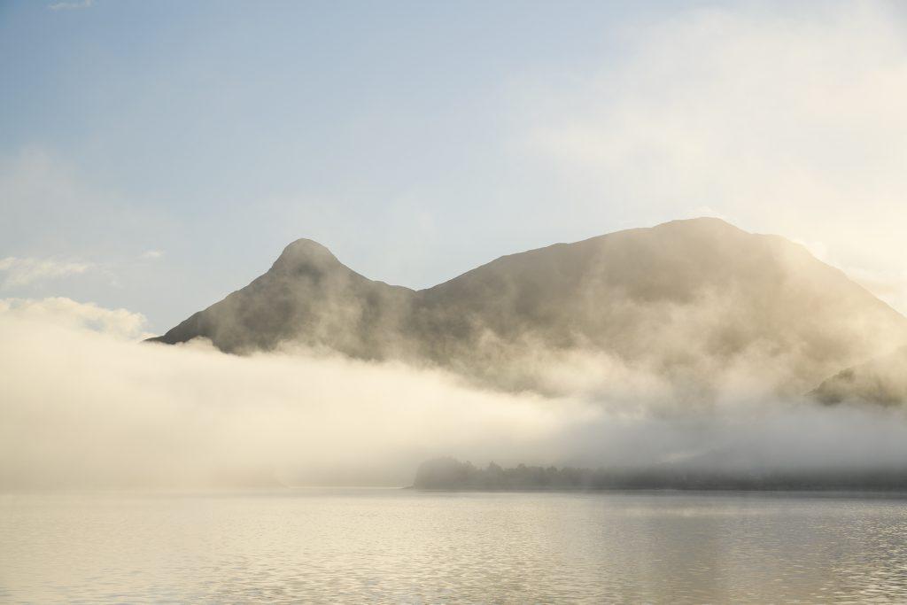 Morgennebel, Loch Leven